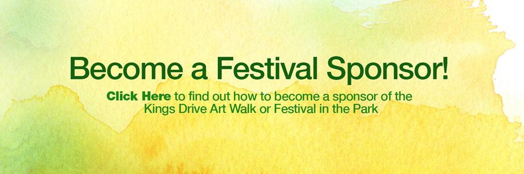 Become a Festival Sponsor!